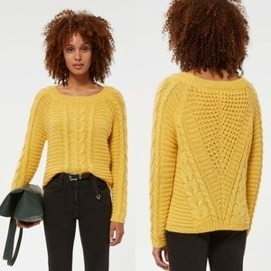Rebecca Minkoff Juna Cable Knit Sweater